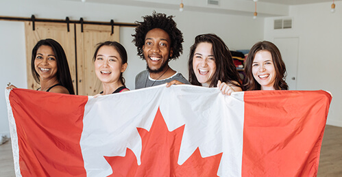 International students in Canada
